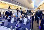 United Airlines vraagt alle passagiers om zelfonderzoek te doen naar hun gezondheid