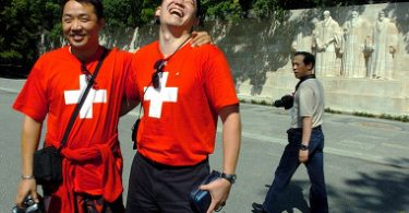 Schweizere er forsigtige med kinesiske turister over COVID-19-frygt