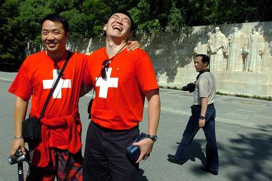 स्विस COVID -19 आशंकाओं से अधिक चीनी पर्यटकों से सावधान हैं