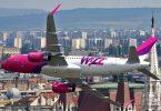 De Budapest Fluchhafen weist nei Strecke mat Wizz Air op