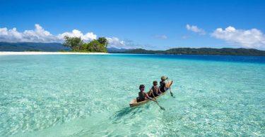"""As illas Salomón sen COVID-19 queren formar parte da """"burbulla de viaxes do Pacífico Sur"""""""