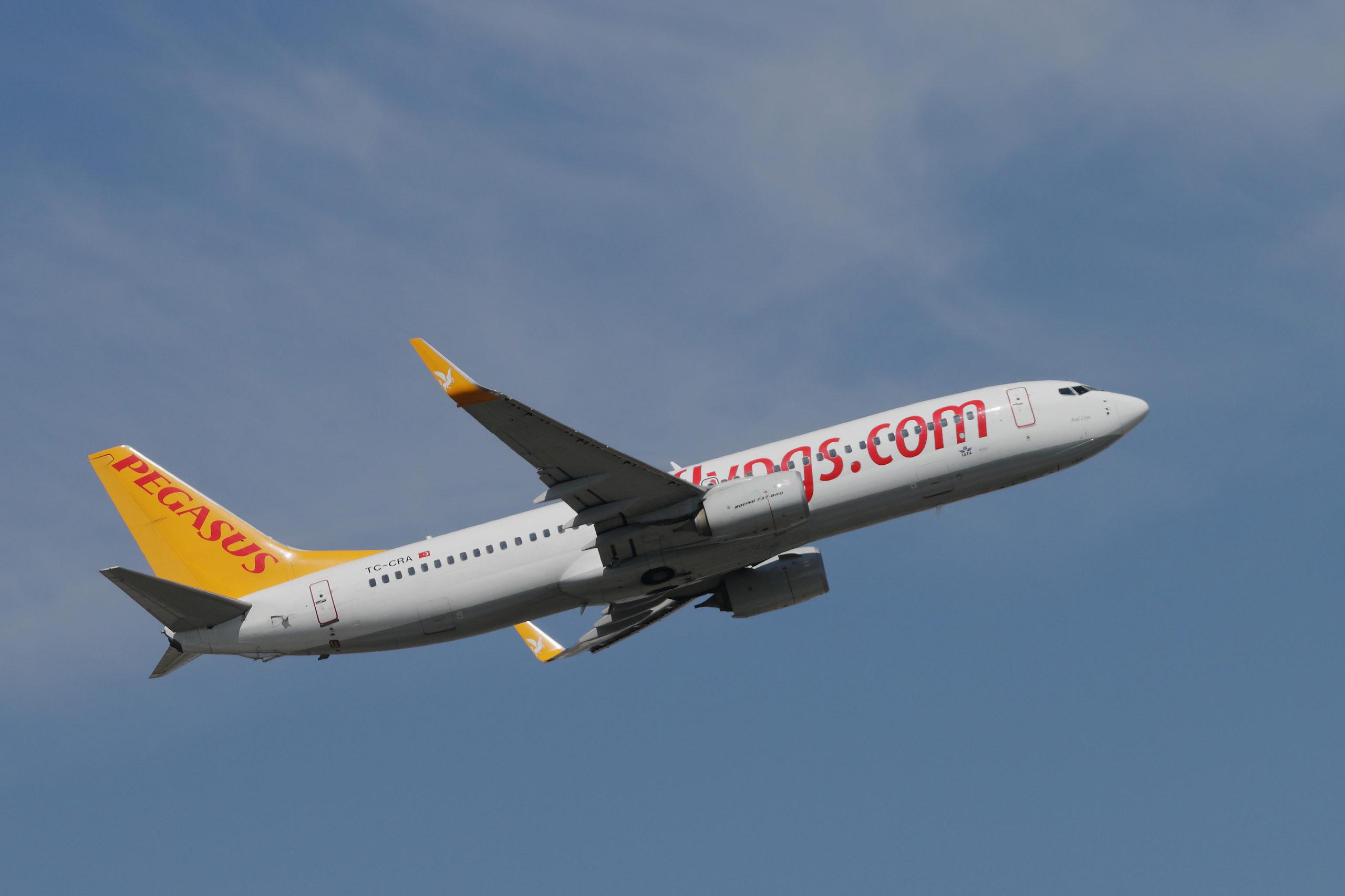 Pegasus Airlines resumes international flights tomorrow, 13 June