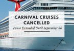 Carnival Cruise Line extends operational pause in North America until October