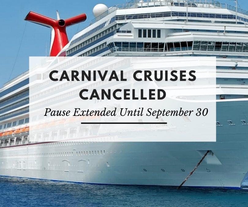 Carnival Cruise Line مکث عملیاتی در آمریکای شمالی را تا ماه اکتبر ادامه می دهد