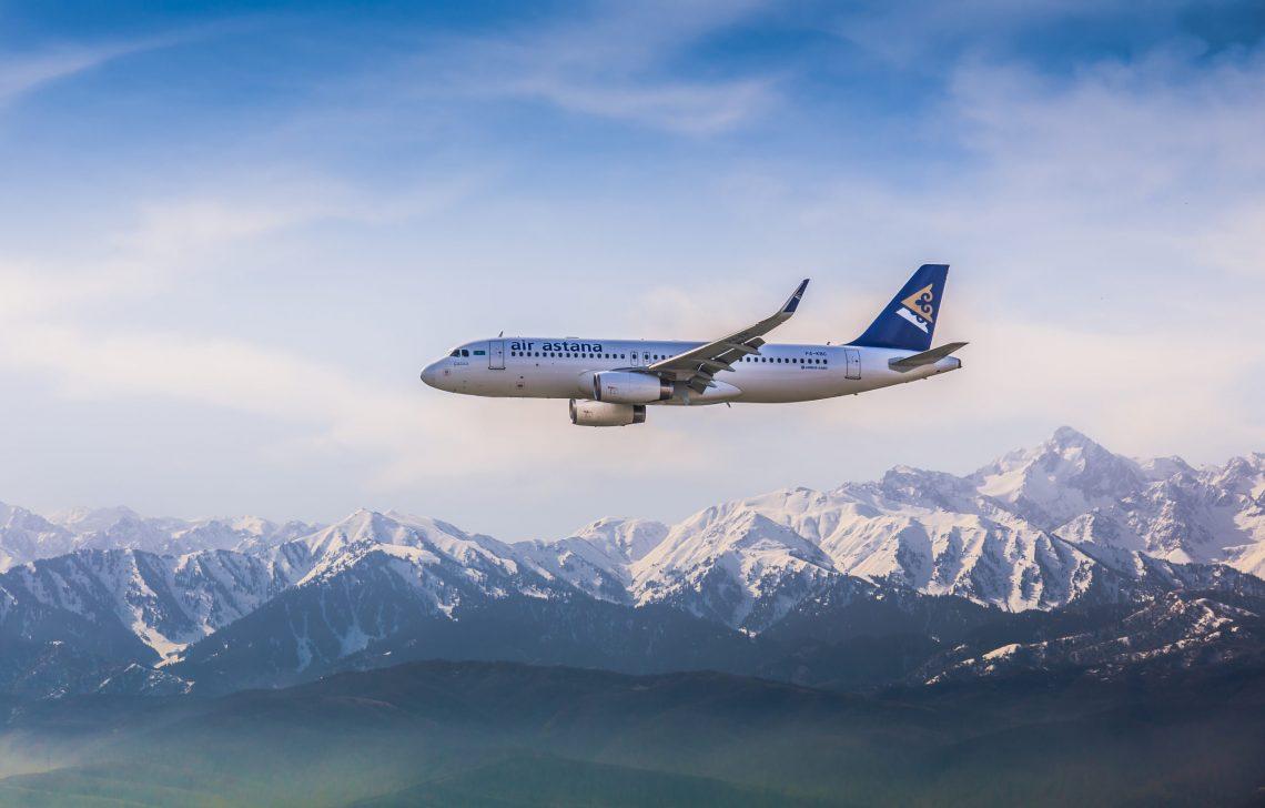 Air Astana melanjutkan penerbangan internasional