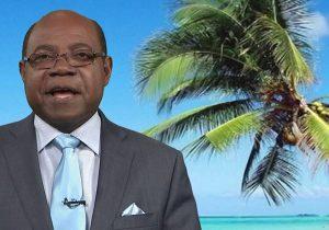 Jamajka minister turystyki podczas Światowego Dnia Oceanu