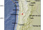 Forte terramotu 6.9 in Cile