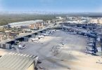 Gambar Lalu Lintas Penumpang Fraport Mei 2020 Tetep Sithik ing Rekor