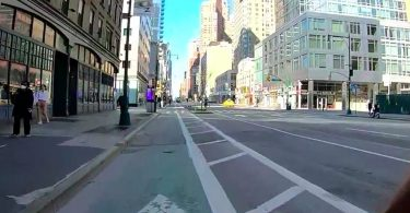 Un paseo por Manhattan después del toque de queda con COVID-19 y una realidad de disturbios civiles