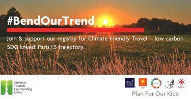 کمپین TREND خود را خم کنید برای سفرهای دوستانه در Mekong