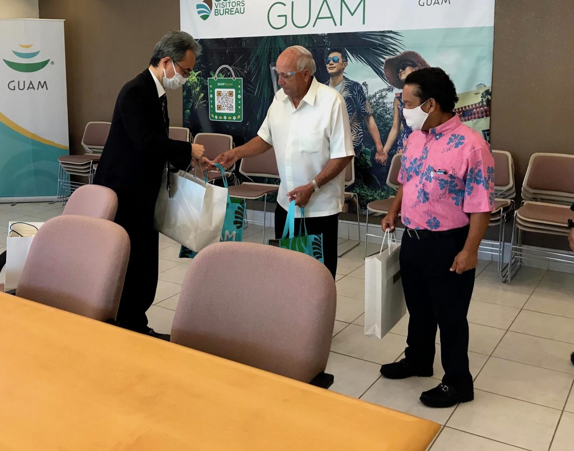Guam Vashanyi Bureau Inosangana neNew Consular General Kobayashi weJapan