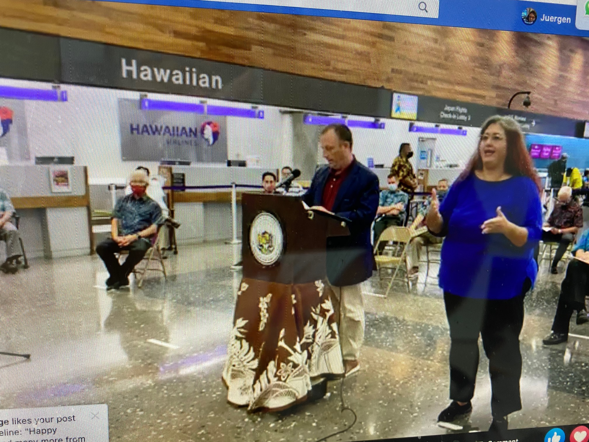 Hawaii Tourism Reopening for Visitors