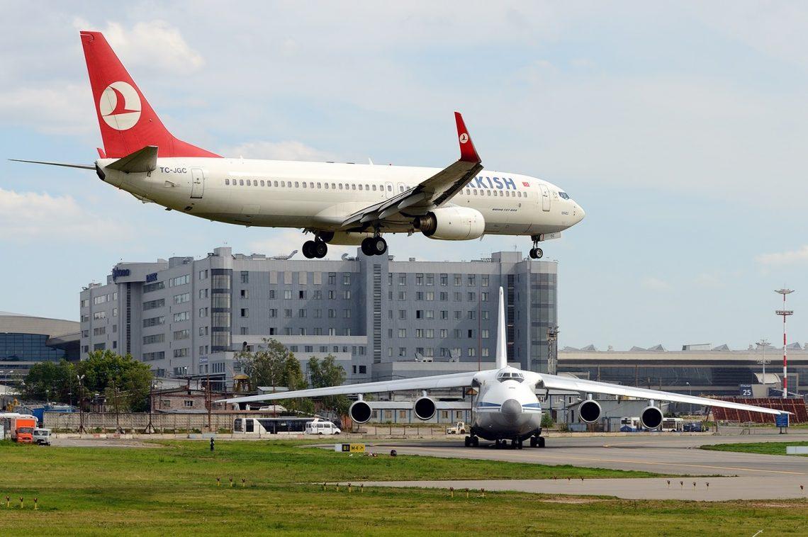 Turkish Airlines naaseb Venemaale