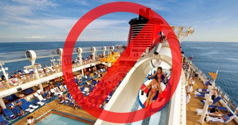 سفر دریایی؟ تا سپتامبر 2020 در آمریکا غیرقانونی است