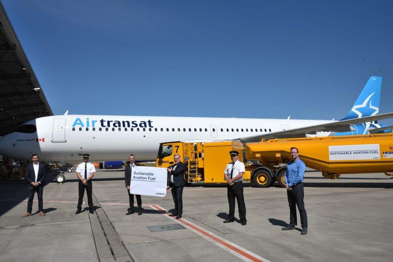ایرباس تحویل هامبورگ را با سوخت پایدار هواپیمایی آغاز می کند