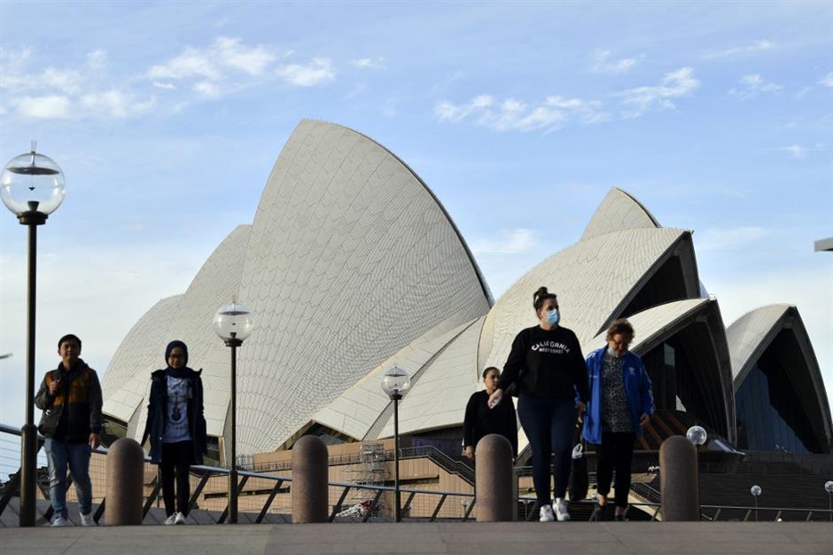 ऑस्ट्रेलियाई शहरों का पर्यटन क्षेत्र उथल-पुथल में है