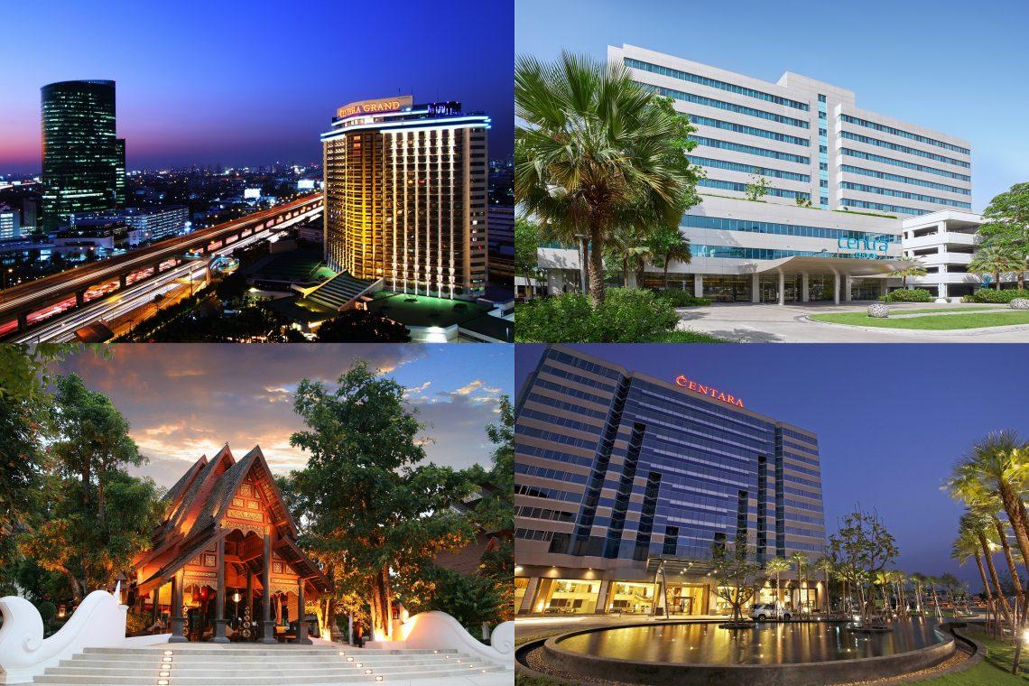 Centara segue em frente com mais reaberturas de hotéis em julho, com a recuperação do setor de viagens