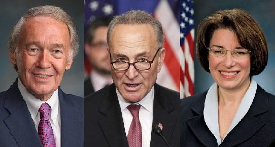 سناتورهای مارکی ، شومر و کلوبوچر قانون پرواز با هم را معرفی می کنند