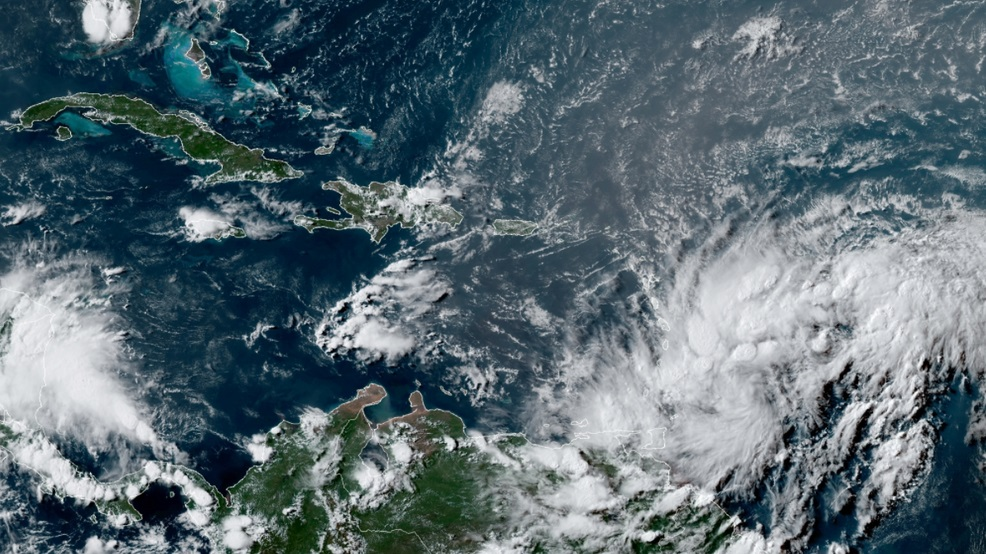 St. Kitts undamaged by Potential Tropical Cyclone #9