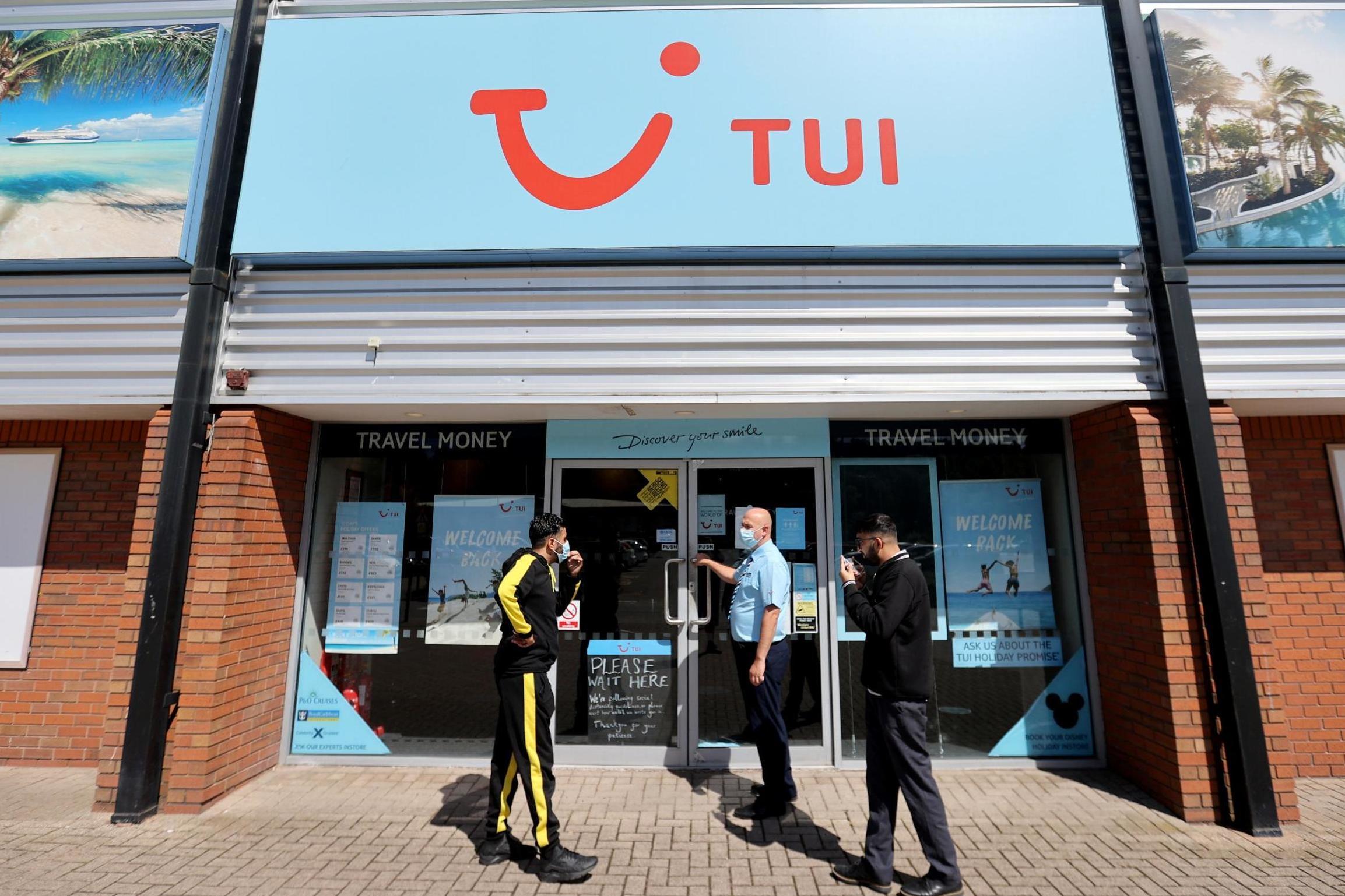 TUI shop closures mark turning point for UK travel agents
