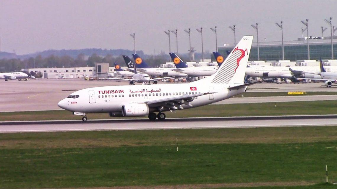 I voli senza scalu ripiglianu da Monaco à Tunisi è Edimburgo