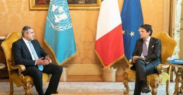 UNWTO आधिकारिक इटली की यात्रा यूरोपीय पर्यटन के फिर से शुरू होने के निशान है