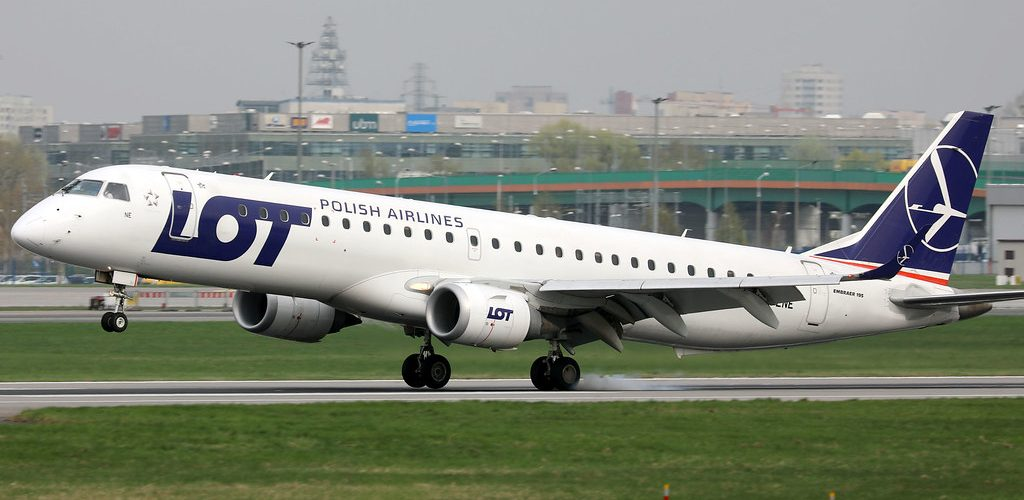 Ua faalauiloa mai e le LOT Polish Airlines le auala lona lima mai le Malae Vaalele i Budapest