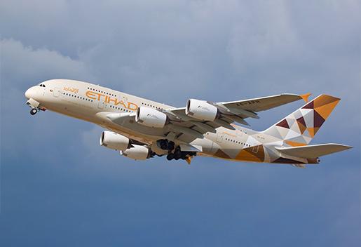 Etihad Airways genoptager flere fly, da UAE-rejsebegrænsninger blev lettet