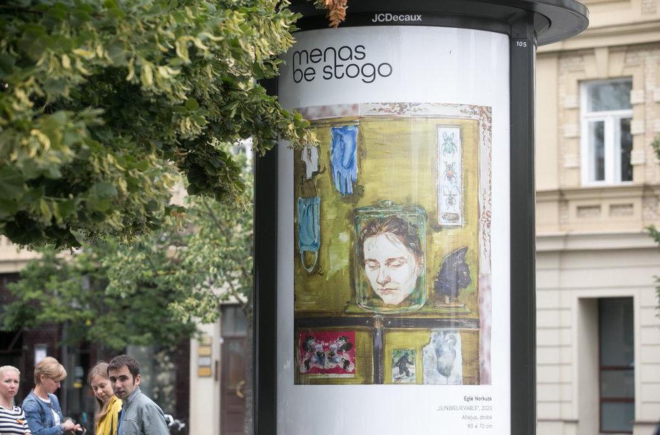 """Umjetnost ne treba krov"" u Vilniusu"