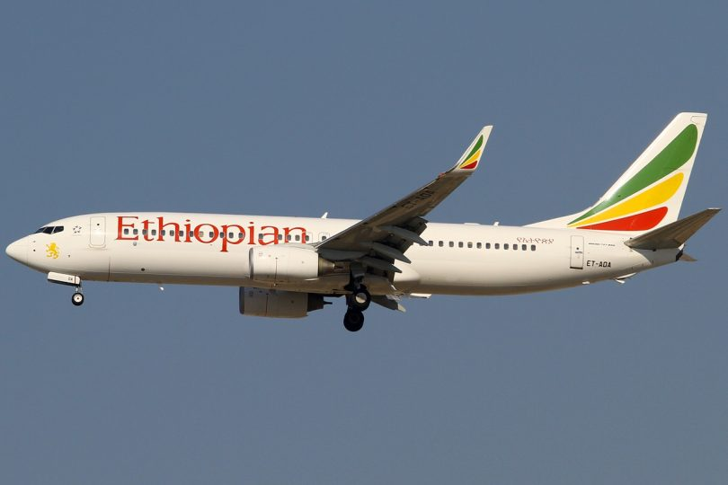 Ethiopian Airlines anuncia retomada do serviço regular