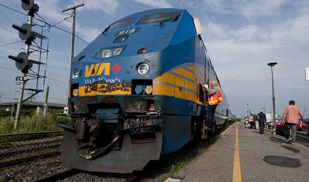 VIA Rail Canada خدمات Québec City-Montréal-Ottawa را دوباره راه اندازی می کند