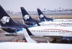 Aeromexico: Scheduled viatoribus facultatem post accisas a 86.9%