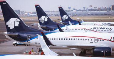Aeromexico: ظرفیت مسافر برنامه ریزی شده 86.9٪ کاهش یافته است