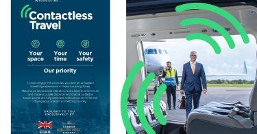 Der Flughafen London Biggin Hill startet den Leitfaden für kontaktloses Reisen