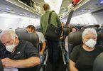 Caribbean Airlines fereasket no passazjiers gesichtsmaskers te dragen