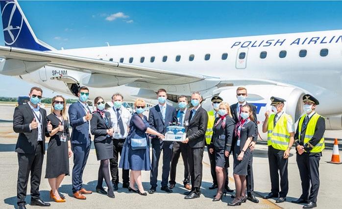 LOT Polish Airlines spouští 12. a 13. linku z letiště v Budapešti