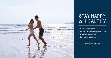 """Centara """"Bliv glad og sund"""" -fremme for sund krop, sind og søvn"""