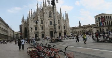 Milán se está recuperando del COVID-19