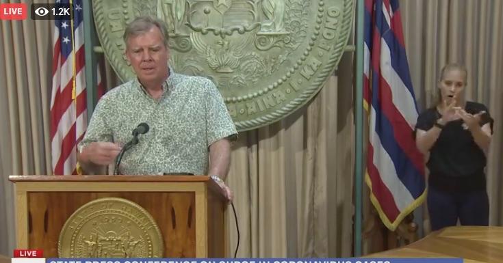 شهردار هونولولو هشدار داد ، ایگ فرماندار هاوایی از سوالات جلوگیری می کند