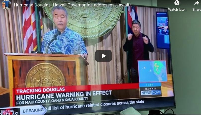 چرا مردم هاوایی طوفان داگلاس را جدی نمی گیرند؟