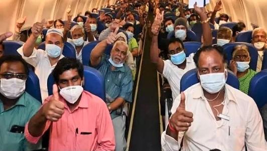 Indien Rejsebureauer Gratis at reservere Vande Bharat Mission-fly