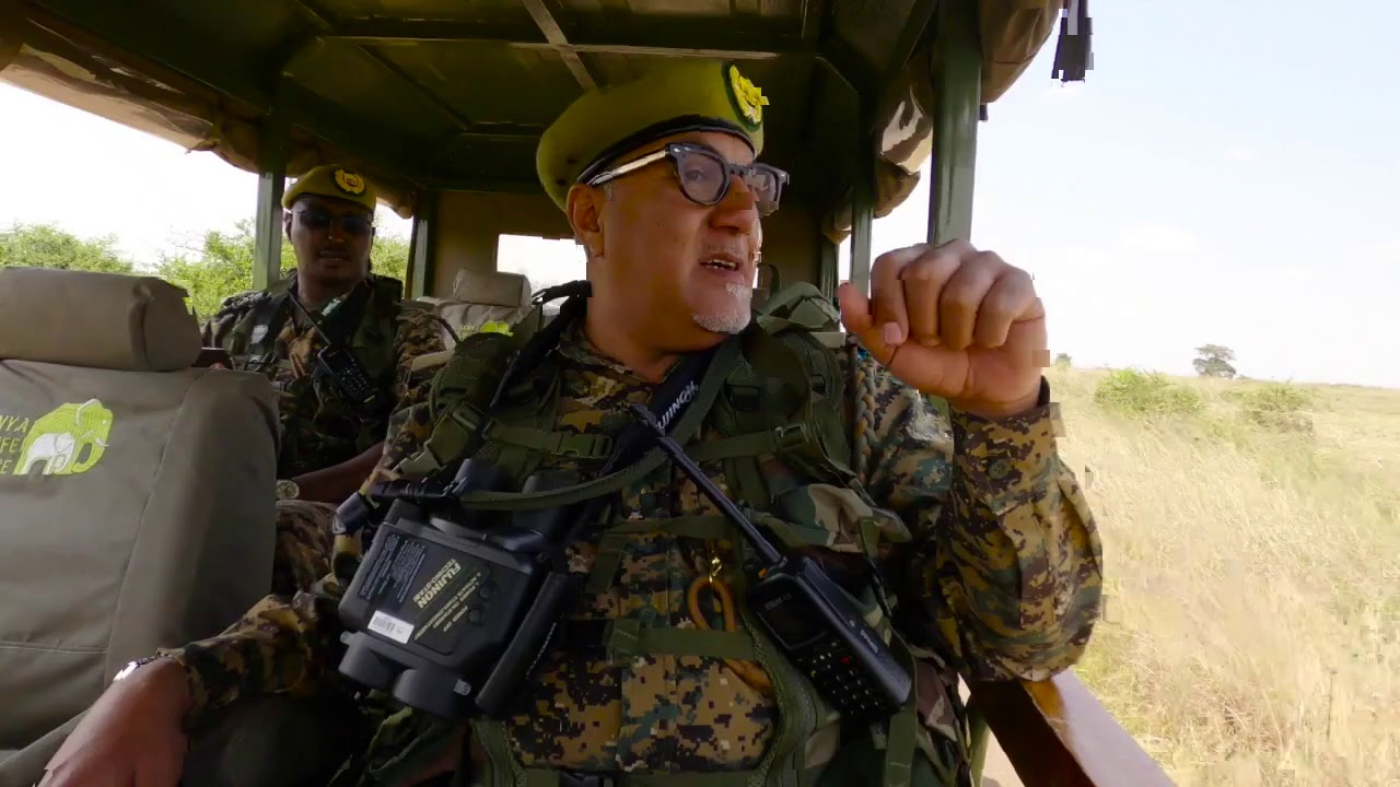 Kenya's Tourism Minister Najib Balala is now a Wildlife Ranger