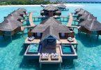 Ho thoe'ng ka ho behelloa ka thoko ho bungalow e holim'a metsi Maldives?