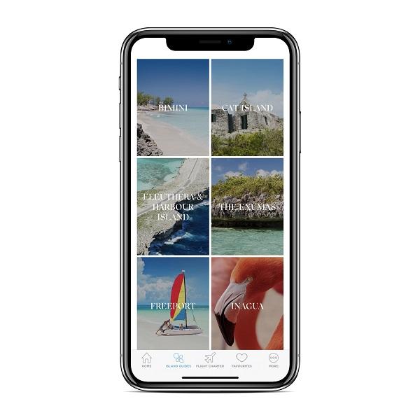 """Turismo de Bahamas lança aplicativo móvel """"As Ilhas das Bahamas"""""""