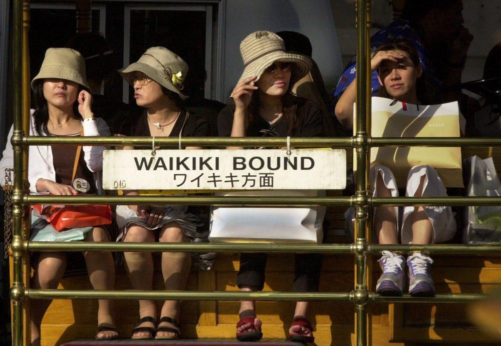 Japonský premiér má vizi a zahrnuje havajsko-japonskou turistiku