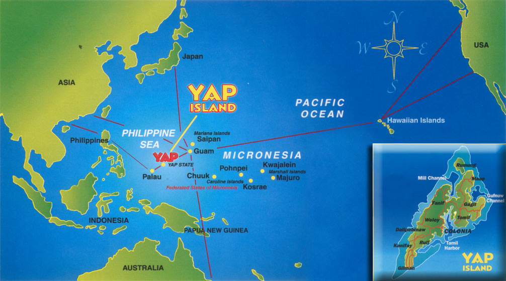 Vahva 6.2 maanjäristys iskee Yap Mikronesiassa