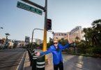 Hanya zuwa Mirage a Las Vegas an sake suna 'Siegfried & Roy Drive'
