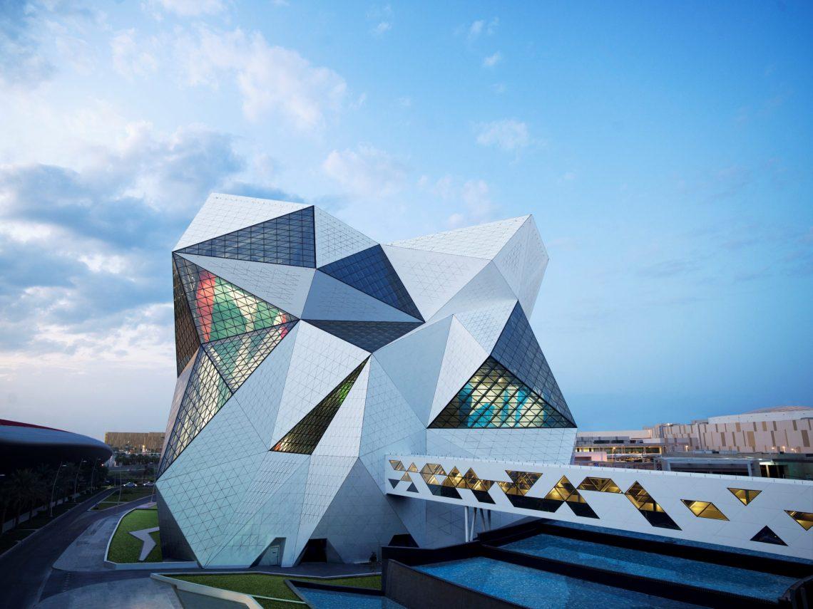 Atração turística de Abu Dhabi bate dois títulos do Guinness World Records