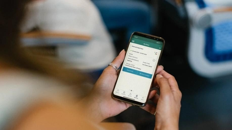 Eurail launches first ever digital pass solution