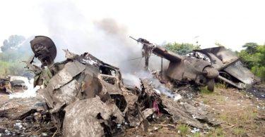 남 수단에서 현금을 실은 비행기 추락 사고로 최소 XNUMX 명이 사망
